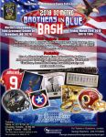 2018 DC Metro Brothers in Blue Bash Flyer